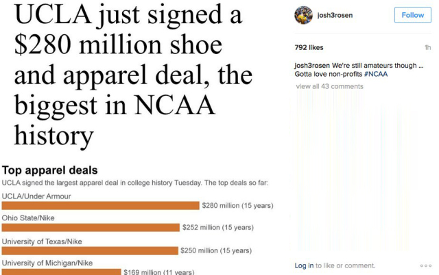 Josh-rosen-instagram-ucla-deal