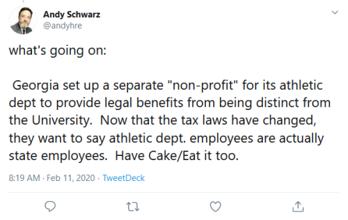 Screenshot_2020-02-11 Andy Schwarz on Twitter what's going on Georgia set up a separate non-profit for its athletic dept to[...]