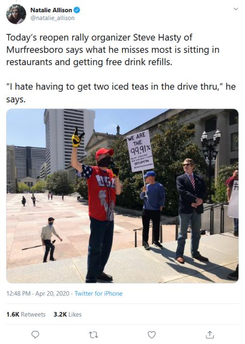 Screenshot_2020-04-22 Natalie Allison on Twitter Today's reopen rally organizer Steve Hasty of Murfreesboro says what he mi[...]