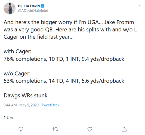 Screenshot_2020-05-05 Hi, I'm David on Twitter And here's the bigger worry if I'm UGA… Jake Fromm was a very good QB Here a[...]