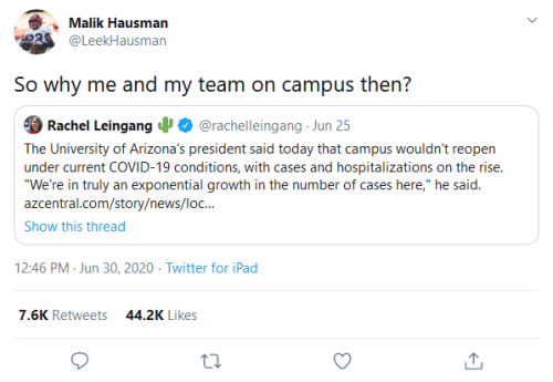 Screenshot_2020-07-02 Malik Hausman on Twitter So why me and my team on campus then Twitter