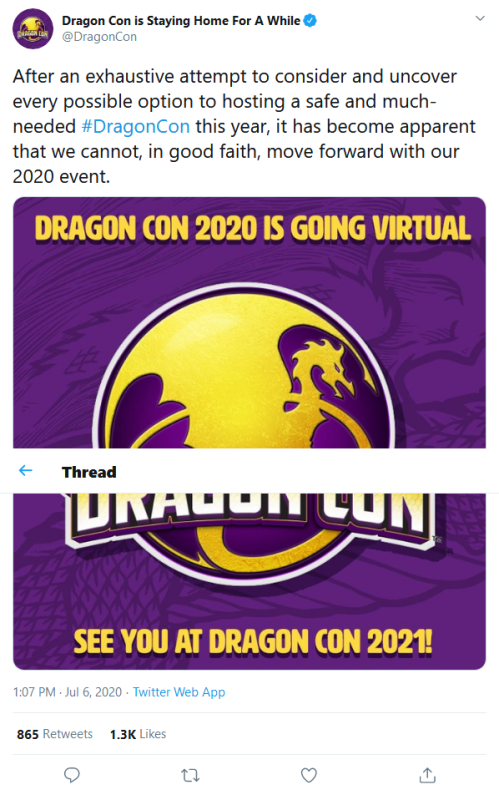 Screenshot_2020-07-06 Dragon Con is Staying Home For A While on Twitter After an exhaustive attempt to consider and uncover[...]