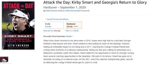 Screenshot_2020-07-13 Attack the Day Kirby Smart and Georgia's Return to Glory Emerson, Seth, Stinchcomb, Matt 978162937723[...]