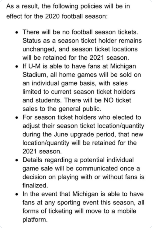 Screenshot_2020-07-15 Andy Staples on Twitter Michigan announces football ticket policies for the 2020 football season (if [...]