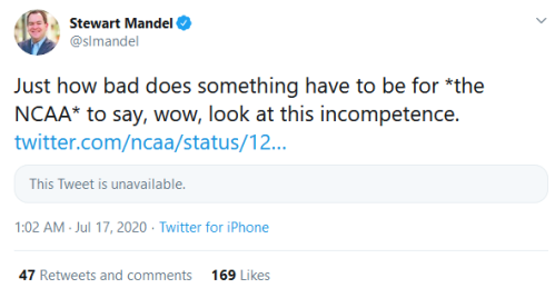 Screenshot_2020-07-17 Stewart Mandel on Twitter Just how bad does something have to be for the NCAA to say, wow, look at th[...]