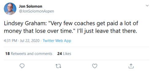 Screenshot_2020-07-23 Jon Solomon on Twitter Lindsey Graham Very few coaches get paid a lot of money that lose over time I'[...]