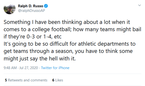 Screenshot_2020-07-27 Ralph D Russo on Twitter Something I have been thinking about a lot when it comes to a college footba[...]