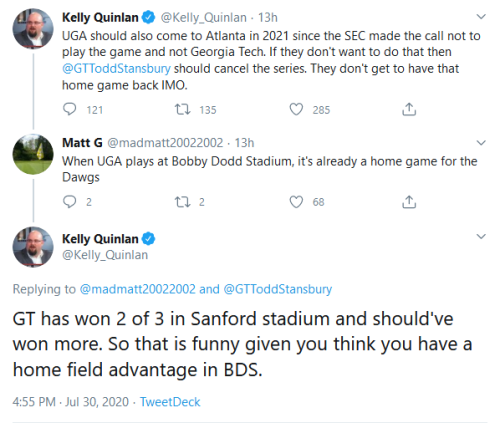 Screenshot_2020-07-31 Kelly Quinlan on Twitter madmatt20022002 GTToddStansbury GT has won 2 of 3 in Sanford stadium and sho[...]
