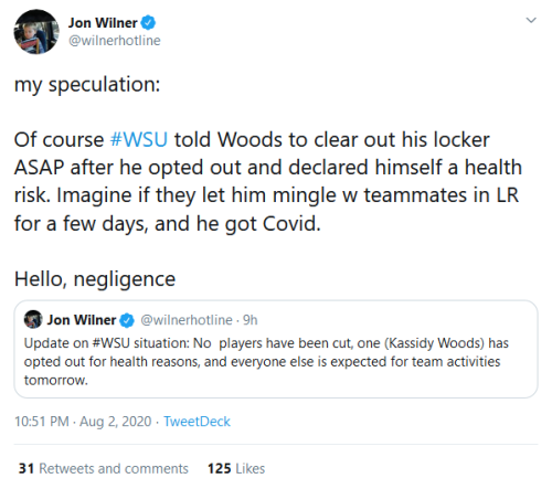 Screenshot_2020-08-03 Jon Wilner on Twitter my speculation Of course #WSU told Woods to clear out his locker ASAP after he [...]