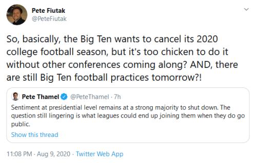 Screenshot_2020-08-10 Pete Fiutak on Twitter So, basically, the Big Ten wants to cancel its 2020 college football season, b[...]