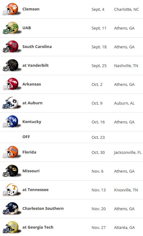 Screenshot_2021-01-27 2021 UGA Football Schedule Georgia Bulldogs