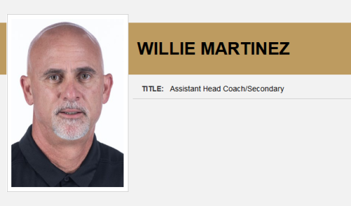 Screenshot_2021-01-27 Willie Martinez - Assistant Head Coach Secondary - Football Coaches - UCF Athletics